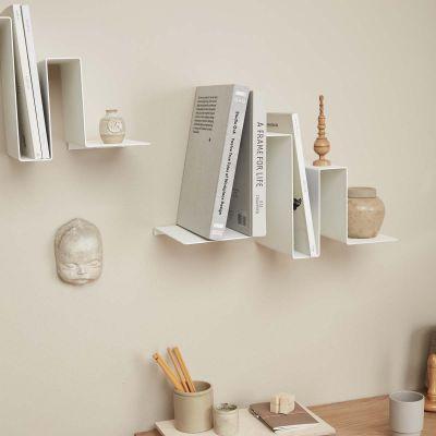 SILHOUETTE JINGAN - weißes Bücherregal